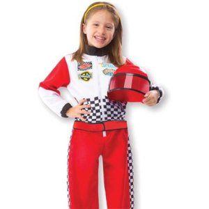 NWT Melissa & Doug Race Car Driver Costume 3-6Y